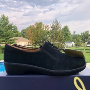 New Natural Soul Leather Luxe Black 10 Oxford